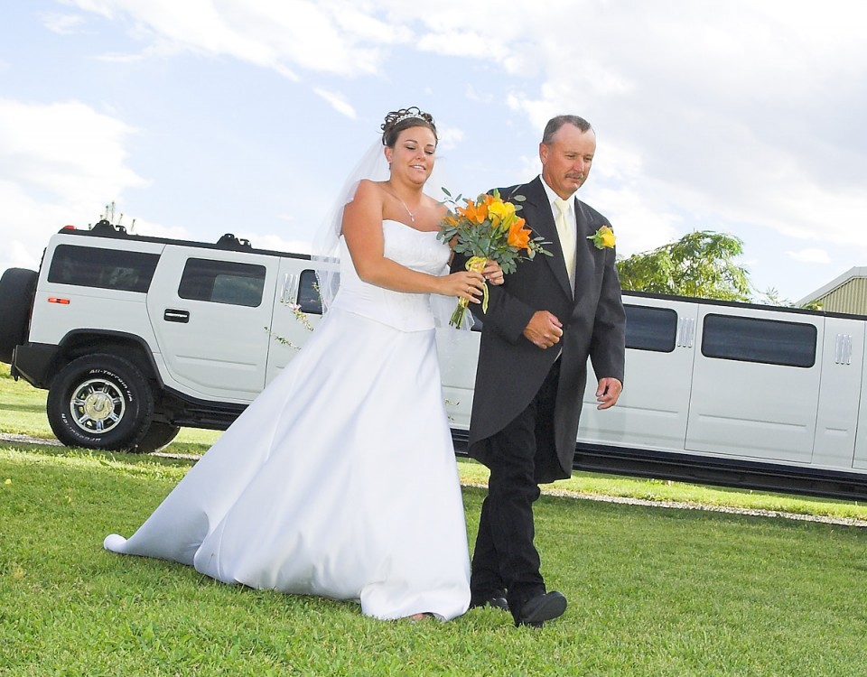 Father and Bride Limo
